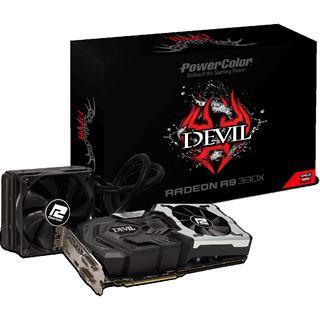 8GB PowerColor R9 390X Devil Hybrid (AiO) - Mindstar
