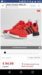 (def-shop.com)   adidas Sneaker NMD_R1 in rot (36 - 40 2/3)