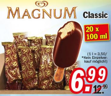 [Zimmermann] Magnum Classic 20x100ml für nur 6,99€ Wieder da! Noch Günstiger!