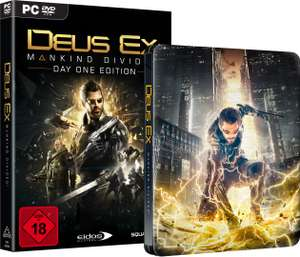 Deus Ex: Mankind Divided + Steelbook (PC) für 14,98€ (Redcoon)