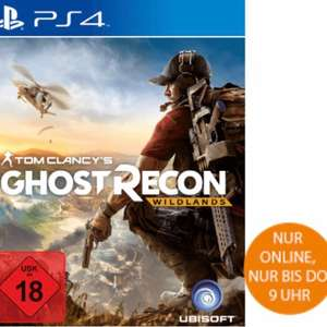 Tom Clancy's Ghost Recon Wildlands bei Saturn im Late Night Shopping