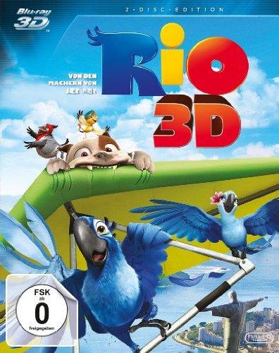 Rio 3D (3D Blu-ray +2D) für 9,99€ (Amazon Prime + Saturn)