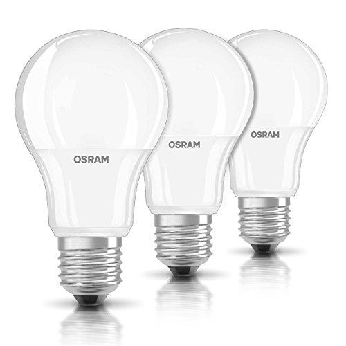 [amazon.de] 3er Pack OSRAM LED Kolben E27 9,5 W  60 W (Preis mit Prime)