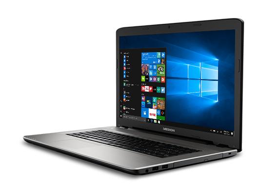 "[Nürnberg] Medion Akoya E7424 17,3"" Laptop (i3-7100U, 128GB SSD+1TB, 4GB RAM) + andere Angebote (Nähmaschine, Epilierer, Kapselmaschine)"