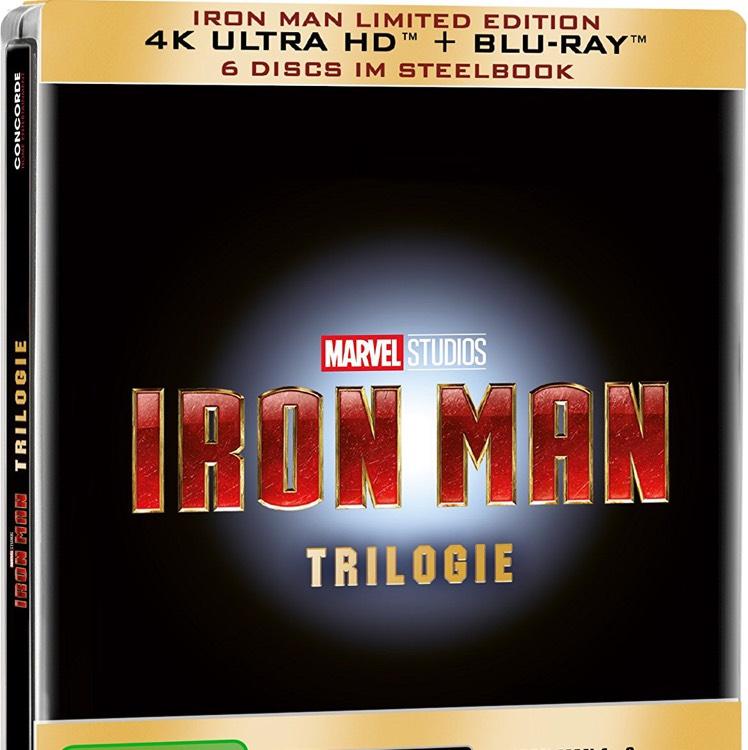 Iron Man Trilogie auf 4K Ultra HD Blu-ray zum Bestpreis @Amazon.de