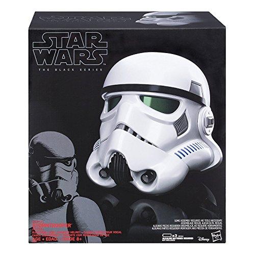 [amazon.it] Hasbro Star Wars B9738EU4 - Rogue One The Black Series Imperialer Stormtrooper Helm mit Stimmenverzerrer, Verkleidung