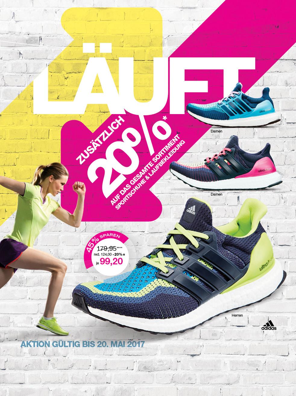 [lokal div.] Adidas Ultra Boost für 99,20 € statt 163,98€