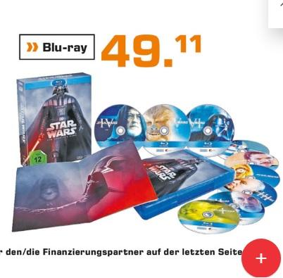 [lokal] Stuttgart Saturn - Star Wars - The Complete Saga I-VI - (Blu-ray)