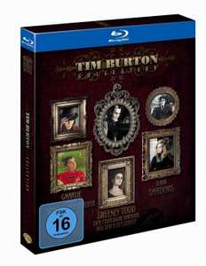 [alphamovies.de] TIM BURTON COLLECTION [BLU-RAY] 4,94 € + 2,99 € Versand, ab 17,-€ Versandkostenfrei