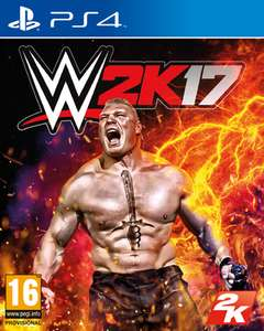 WWE 2K17 (PS4/Xbox One) für 21€ (Shopto)