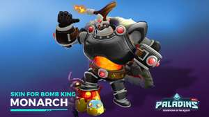 Paladins Champion Bomb King Key Giveaway (PC, Xbox One and PS4)