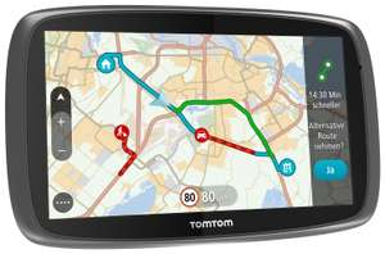 TomTom GO 620 mit 50,- € Cashback - 6''-Navi mit lebenslangen Karten-Updates (Welt) und Radarkameras, Aktionspreis 239,- € minus 50,- € Cashback = 189,- €