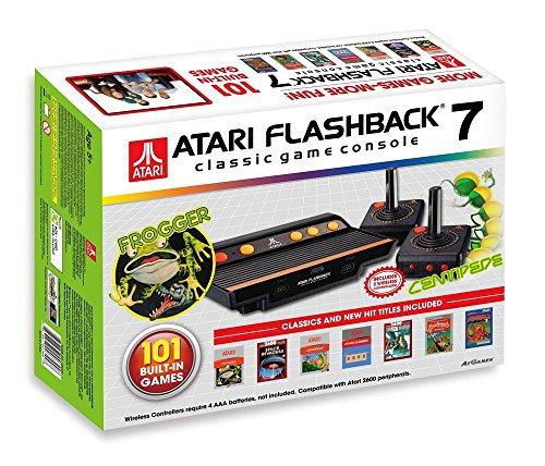 Atari JVCRETR0100 Retro-Klassik Spielekonsole inklusive 101 Spiel anthrazit [Amazon]