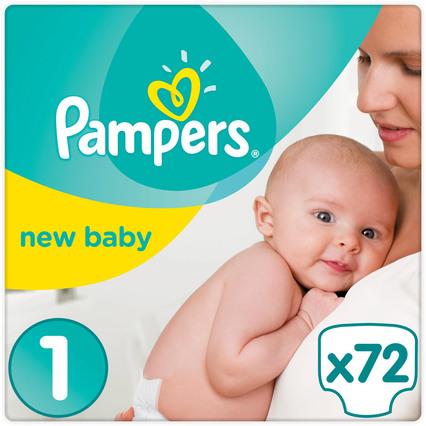 Pampers Premium Protection Gr. 1 oder 2 (4x 72 oder 240 Windeln) für 38,34€/ 35,18€ (windeln.de)