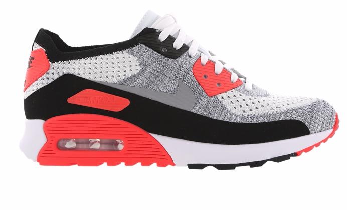 Nike Air Max 90 Ultra 2.0 Flyknit - Damen Sneaker (Gr. 36-40) für 89,99€ statt 131€ bei Foot Locker