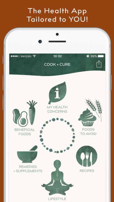 [iOS] COOK + CURE, App für Gesundheit und Ernährung [kostenlos, sonst 5,99 €]