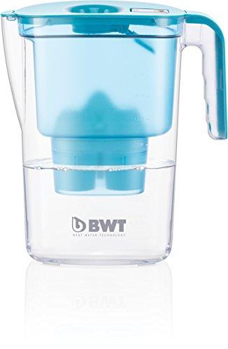 [Amazon - Prime] BWT 815446 Tischwasserfilter Vida 2,6 l, Kartusche Magnesium Mineralizer für 120 l gefiltertes Leitungswasser, petrol 6,70 Euro