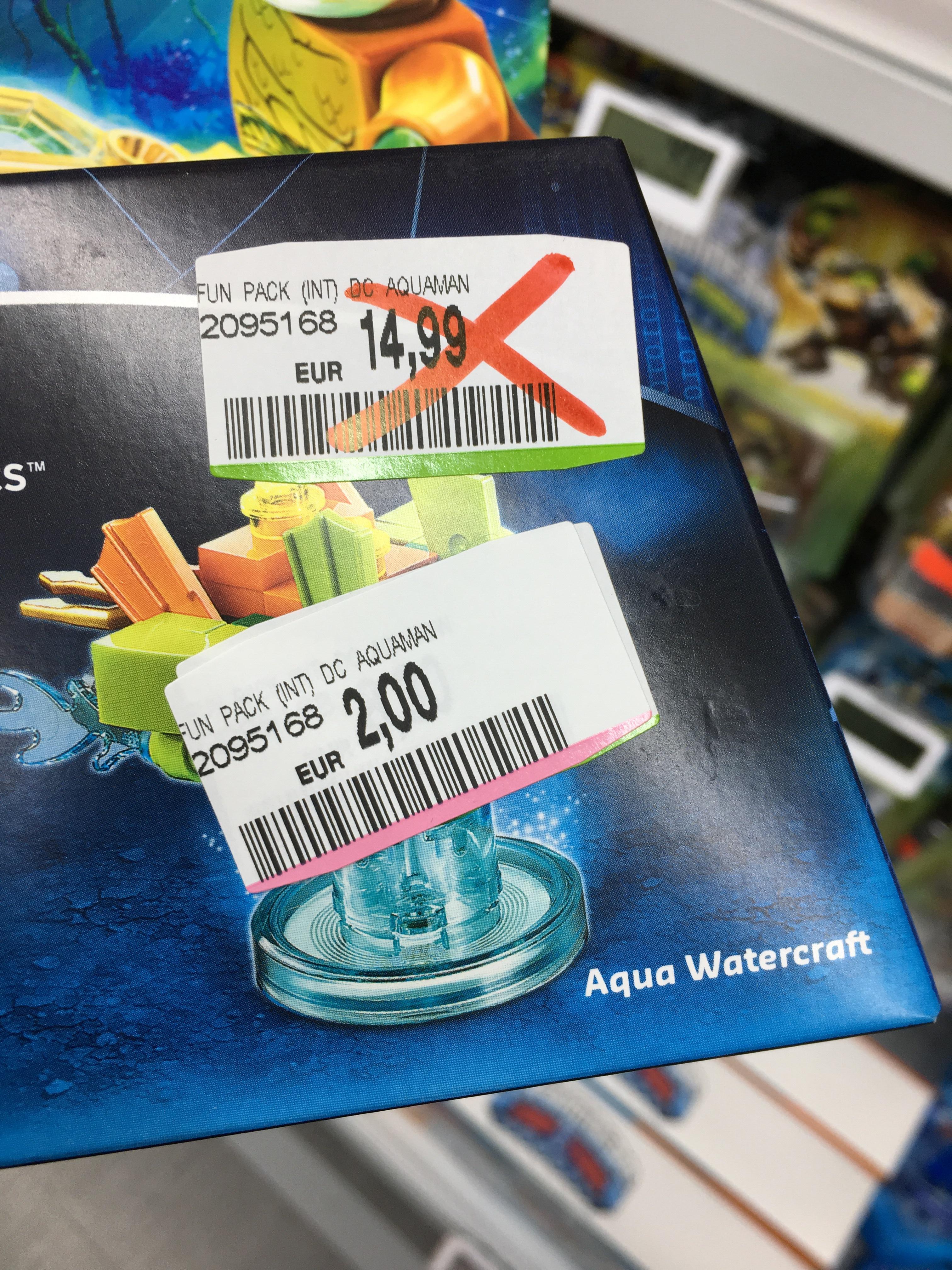 [lokal Media Markt Berlin Alexa] Lego Dimensions 71237 Aquaman Fun Pack für 2€