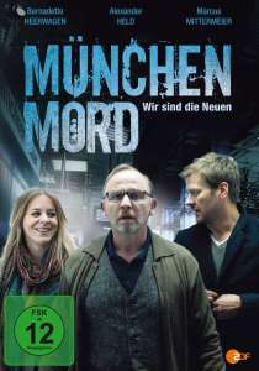 """3x """"München Mord"""" Wir sind die Neuen+Wo bist Du Feigling+Einer der's geschafft hat ->ZDF Mediathek"""