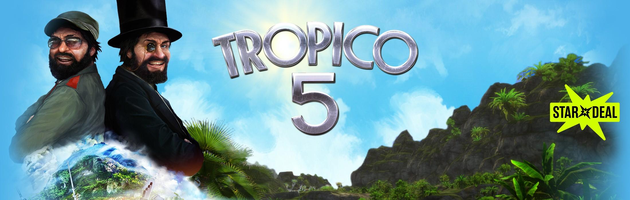 Tropico 5 (Steam) für 2,99€ [Bundlestars]