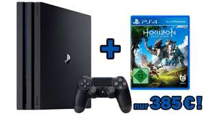 PS4 Pro + Horizon Zero Dawn