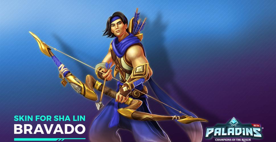 Paladins - Bravado-Skin für Sha Lin auf PS4 und Xbox One