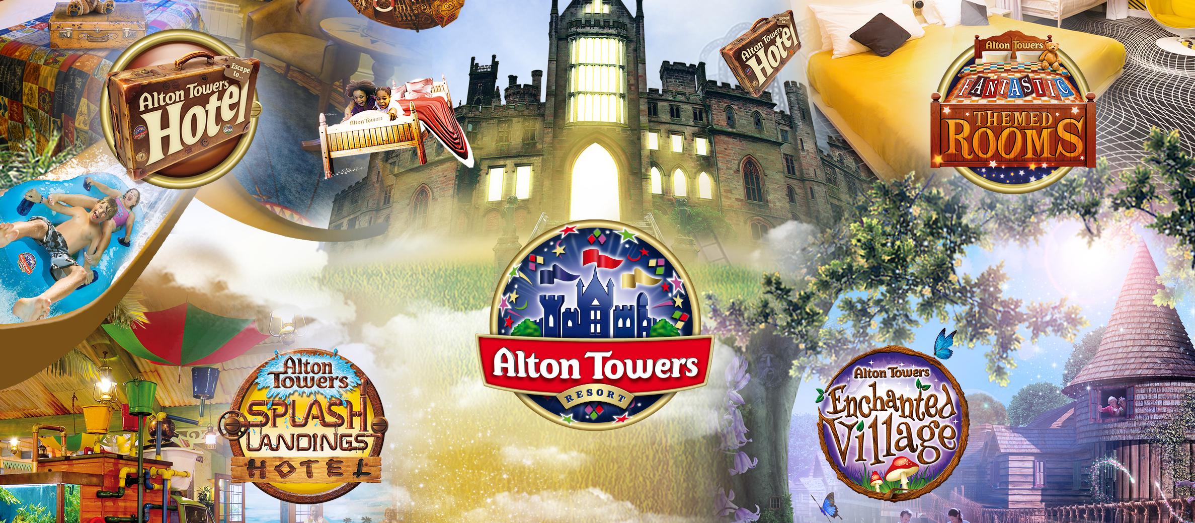 Britischen Freizeitpark Alton Towers mit der Familie für 165 € inkl. Übernachtung