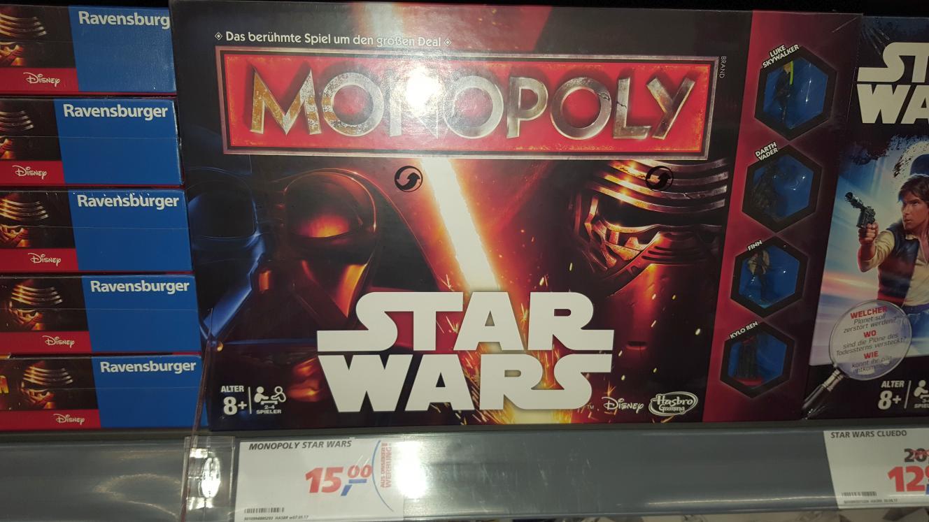 [Bundesweit] Monopoly Star Wars für 9€ [Real]