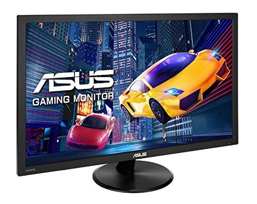 [amazon]  Asus VP228HE 54,61 cm (21,5 Zoll) Monitor (Full HD, Gaming, VGA, HDMI, 1ms Reaktionszeit, Lautsprecher, White-LED, flicker-free, 8bit, 60 Hz, 3 Jahre Garantie)