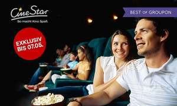 5 CineStar Kinogutscheine (2D) bei Groupon