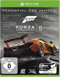 Forza Motorsport 5: Game of the Year Edition (Xbox One) für 14,15€ (Conrad Filiale)