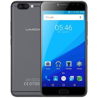 [Gearbest] UMIDIGI Z Pro 4G inkl. LTE Band20, 202 Euro, schwarz, Stock Android 7, 5.5 Zoll, Helio X27 Deca Core, 4GB RAM 32GB ROM, 13.0MP Dual Sony Rear Cameras, Fingerprint Scanner