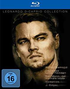 Leonardo Di Caprio Collection (Blu-ray) für 10,48€ inkl. VSK (Alphamovies)