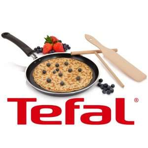 Tefal Crepes Set mit 25cm Pfanne, Verteiler und Wender Induktionsgeeignet für 24,99€ inkl. Versand bei Bluespoon