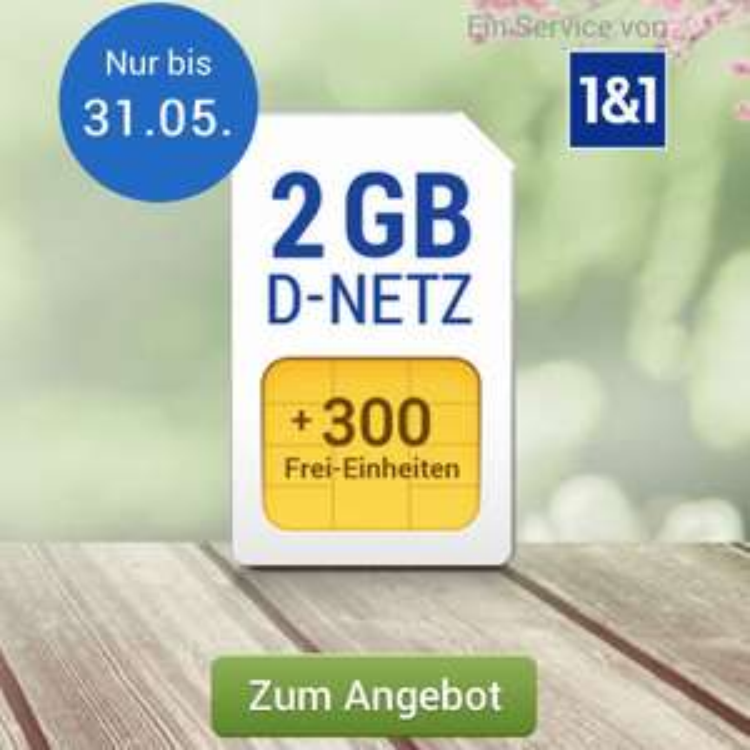 GMX Vodafone All-Net Surf 2/3/4GB