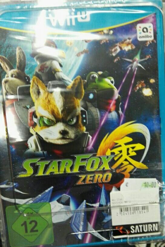 Star Fox Zero -  Wii U [Saturn Osnabrück]