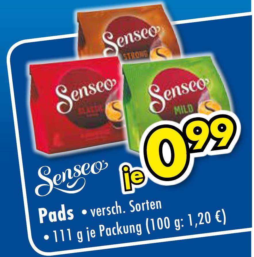 Senseo Pads für 0,99 (lokal Gütersloh)