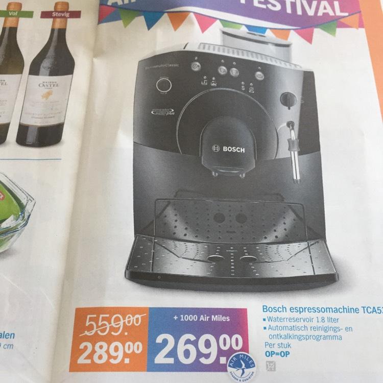 (Grenzgänger NL Albert Heijn XL) Bosch Espressomaschine TCA5309