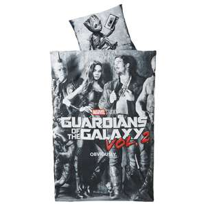 [Dänisches Bettenlager ab 08.05] Bettwäsche Guardians of the Galaxy Vol. 2, 135*200cm, 100% Baumwolle, verschiedene Dessins