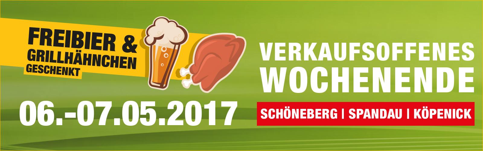[Lokal Berlin/Autohaus König] Freibier und Grillhähnchen geschenkt 06.-7.05.2017