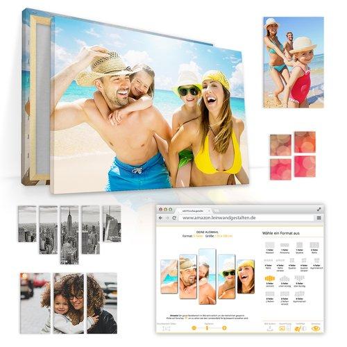 Foto auf Leinwand 60 x 40 cm für 19,90 € statt 49,90 €