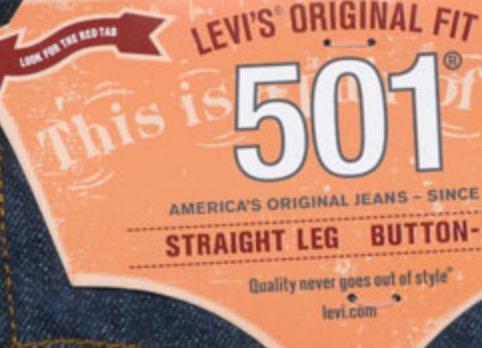 Levis 501 - viele Größen - (lokal?) - Metro