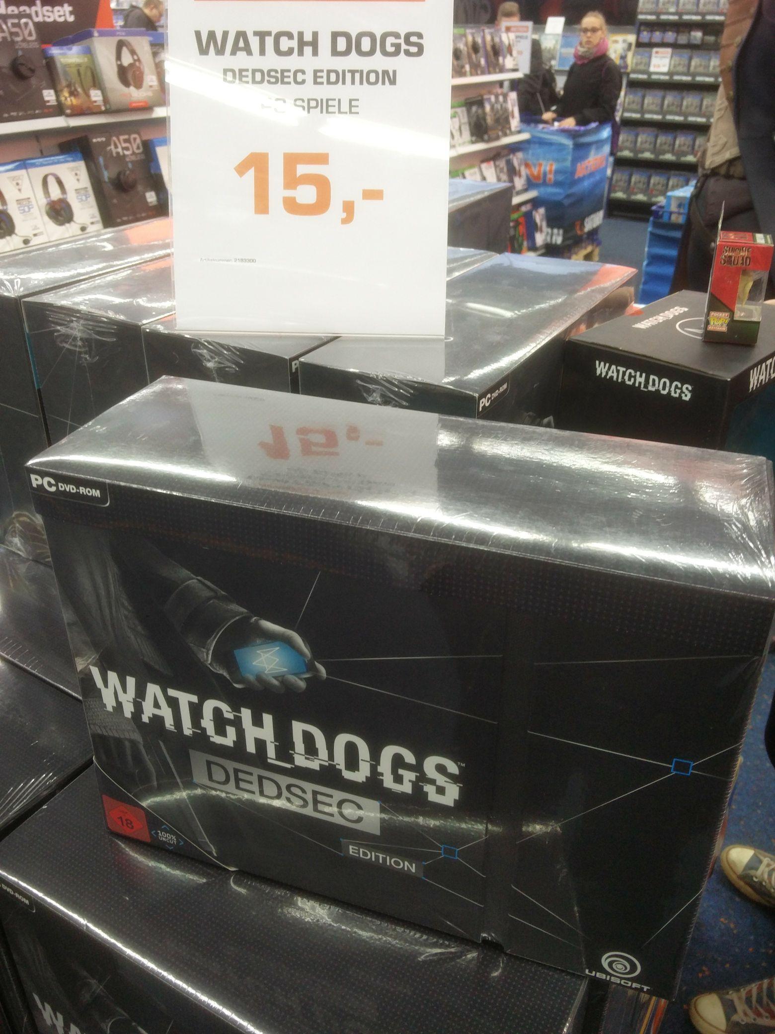 [PC] Watch Dogs - Dedsec Edition - Saturn Berlin Alexanderplatz