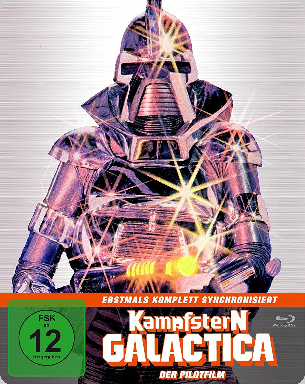 Kampfstern Galactica-Der Pilotfilm (Steelbook Edition) (Blu-ray) für 8,99€ versandkostenfrei (Saturn & Amazon Prime)