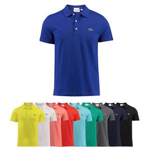Lacoste Poloshirts Herren Slim Fit verschiedene Farben und Größen [engelhorn@eBay]