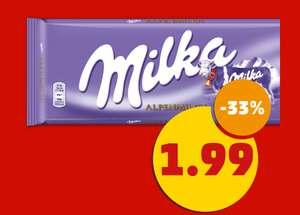 [Penny Offline] Milka 3x300-g-Packung mit Coupon