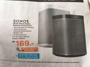 Sonos Play 1 (lokal?) - Saturn nur am 12.05.2017
