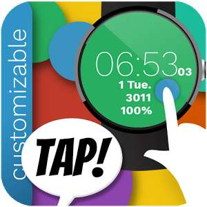 Neues Android Wear Watch Face zum Launch gratis!
