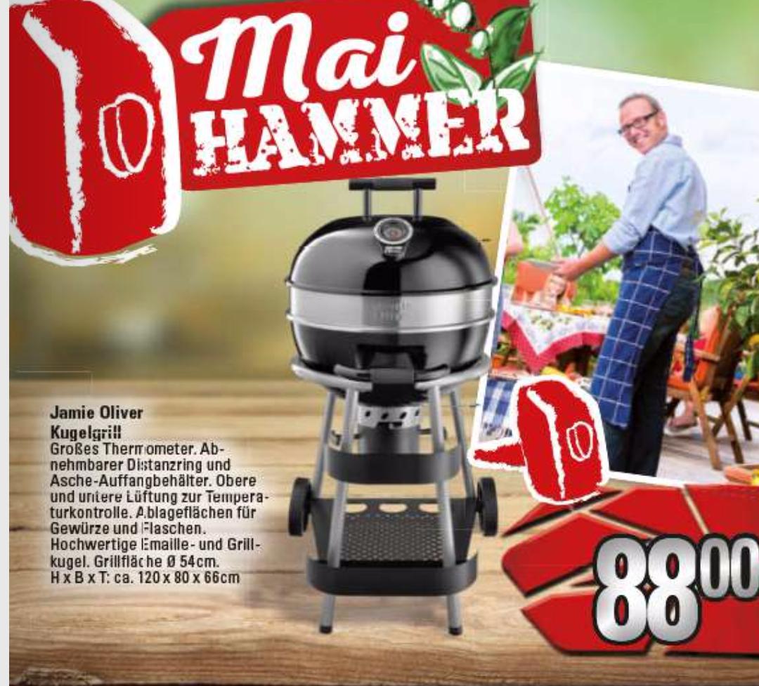 Jamie Oliver Classic Grill – 57cm [MARKTKAUF LOKAL LÖHNE evtl. BUNDESWEIT]