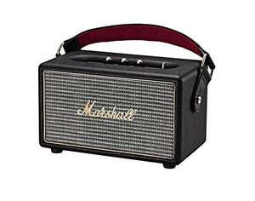 Notebooksbilliger Marshall Kilburn (schwarz) - Tragbarer Bluetooth Lautsprecher (Vintage-Design, Bluetooth 4.0, 20 Std. Akku...